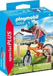PLAYMOBIL MOUNTAIN BIKER 70303