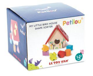 PETILOU MY LITTLE BIRD HOUSE SHAPE SORTE