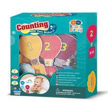 BATH TIME STICKERS COUNTING