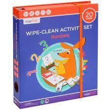 WIPE CLEAN ACTIVITY SET NUMBERS