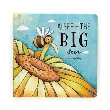 JELLYCAT ALBEE & THE BIG SEED BOOK