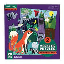 MAGNETIC PUZZLE FOREST NIGHT & DAY