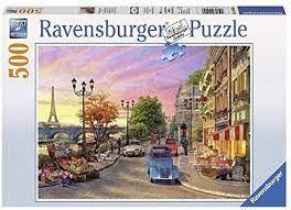 A PARIS EVENING PUZZLE 500 PCE