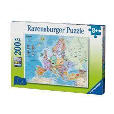 EUROPEAN MAP PUZZLE 200 PCE