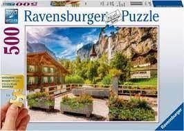 LARGE FORMAT LAUTERBRUNNEN SWITZ 500 PCE