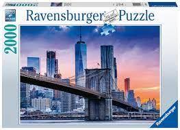 NEW YORK SKYLINE PUZZ 2000 PCES
