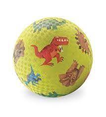 "PLAYGROUND BALL 5"" DINOSAUR GREEN"