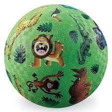 """PLAYGROUND BALL 5"""" VERY WILD ANIMALS"""
