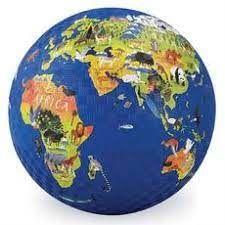 """PLAYGROUND BALL 7"""" WORLD"""