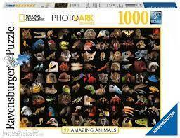 99 STUNNING ANIMALS PUZZ 1000 PCES