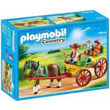 PLAYMOBIL HORSE DRAWN WAGON 6932