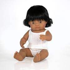 MINILAND 38CM BABY GIRL LATIN AMERICAN