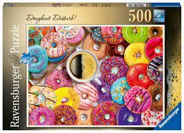 DOUGHNUT DISTURB PUZZ 500 PCES