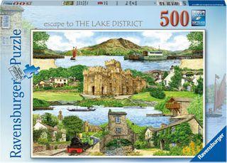ESCAPE TO THE LAKE DISTRICT PUZZ 500 PCE