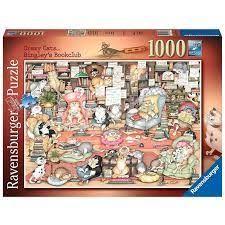 BINGLEYS BOOKCLUB PUZZ 1000 PCES
