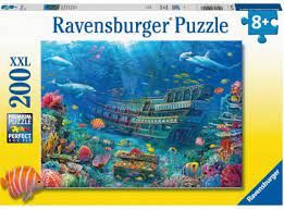 UNDERWATER DISCOVERY PUZZ 200 PCES