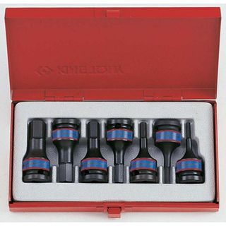 7pc 1/2'DR H4-H14 Hex Impact Socket Set- CLEARANCE SALE PRICE 40% DISCOUNT