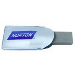 Pocket Knife Sharpener with  pouch 76x22x9mm - Norton