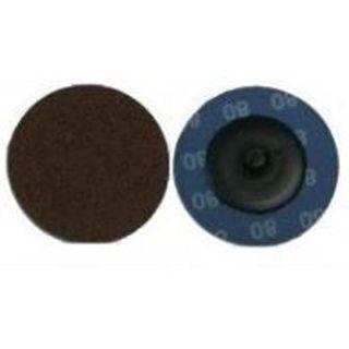 50mm x 80 Grit Screw-Loc Sanding Pads - Zirconia