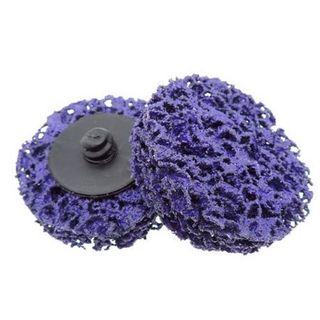 50mm Quick Change Roloc Easy Strip & Clean Discs - (Purple ) - Coarse Pkt 10