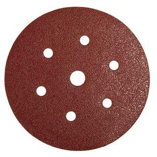 150mm x 40 Grit Vecro Back Sanding Disc  6 Hole - Mirka ( Finland )