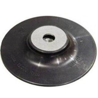 125mm Rubber Backing Pad with 6mm Arbor - Raco