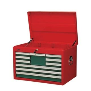 10 Drawer Top Box Lockable - Hans  (600mm x 456mm x 485mm)