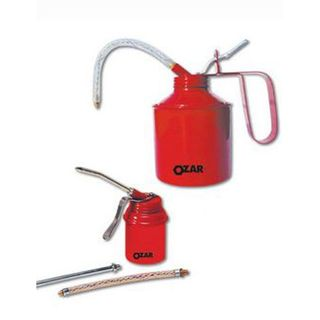 1/4 pint/125ml Oil Can WS Type Steel Pump -  Ozar