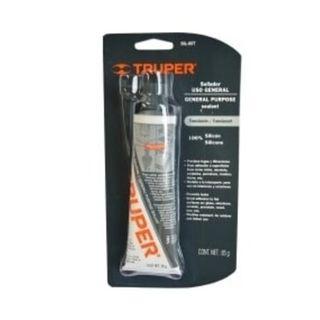 85gm Tube Clear All Purpose Silicone SealanT - Truper