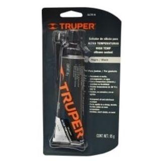 85gm Tube Black Hi Temp 250C Silicone Sealant - Truper
