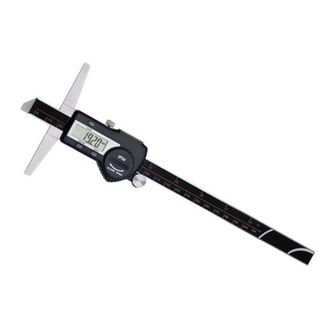 "8""/200mm x .01mm Grad. Digital Depth Gauge in ABS Case - Shahe"