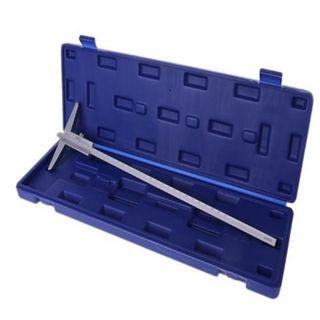 0-150mm x .02mm Depth Vernier in Blue ABS Case - DTD