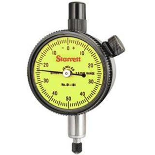 0-10.0 x .01mm Grad Dial Indicator 57mm Face - Starrett