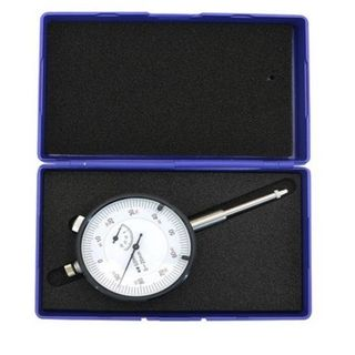 0-20mm x .01mm Grad Dial Indicator w/o Lug in ABS Case