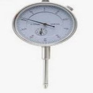 0-25mm x .01mm Grad Dial Indicator c/w Lug in Box