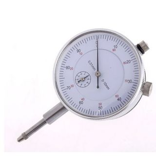 0-10mm x .01mm Grad Dial  Gauge c/w Lug