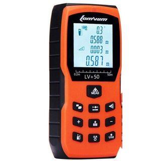 50M Digital Laser Distance Meter c/w 2 x AA Batteries