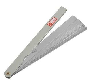0.05 to 1mm x 200mm OAL  17 Blade  Thickness Gap Metric Feeler Gauge