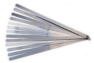0.05 to 1mm x 300mm OAL 20 Blade  Thickness Gap Metric Feeler Gauge - Polished Sheath - DTD