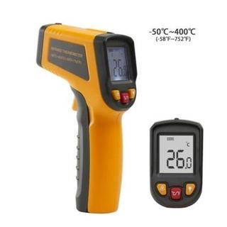 -50C - 400C Infrared Pistol Grip Thermometer - Deko (Yellow)
