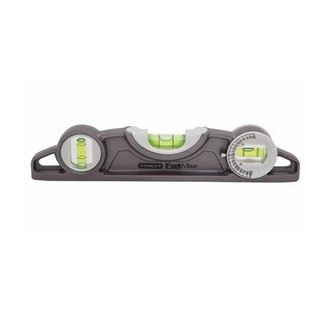 200mm Magnetic Level - Stanley Fatmax   c/w Angle Finder