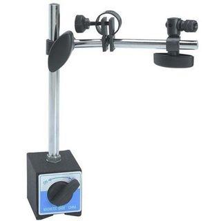 Central Locking Magnetic Base with Fine Adjustment