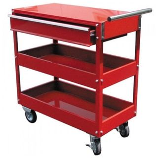 3 Tier Tool Cart with Drawer