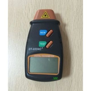 Digital Hand Held  Laser Tachometer Non-Contact Measuring Range:2.5-99999RPM - 1x9Vlt  Batteries Included