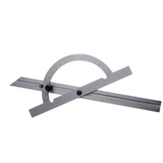 300mm x 180Deg Protractor Stainless Steel - DTD