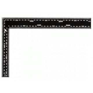 300 x 200mm Rafter Square  White on Black
