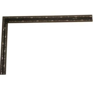 600 x 400mm Rafter Square  -White on Black