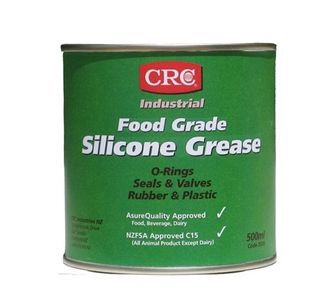 CRC Silicon Grease Food Grade 500gm tub