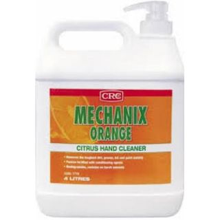 CRC Mechanix  Orange Hand Cleaner 4 Litre