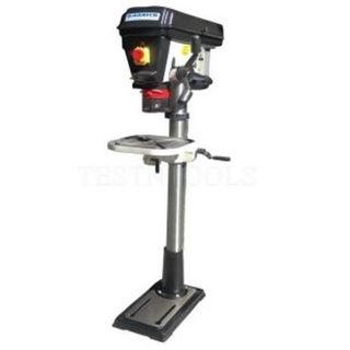 Pedestal Industrial Heavy Duty Drill Press 750W motor, 16mm Chuck, MT3 - Garrick